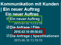 e-lcon Zeitstempel